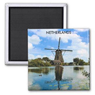 NETHERLANDS SQUARE MAGNET
