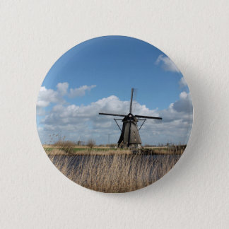 Netherlands views. 2 inch round button