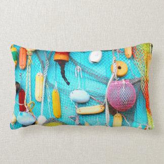 Nets N Buoys Lumbar Pillow