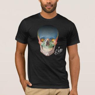 Netter's Anterior Skull on a Black Tshirt