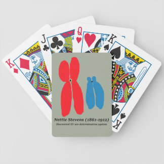 Nettie Stevens, XY Chromosomes Bicycle Playing Cards