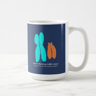 Nettie Stevens, XY Chromosomes Coffee Mug