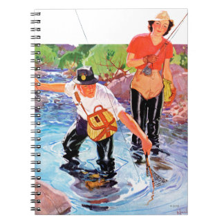 Netting A Fish by R.J. Cavaliere Note Book