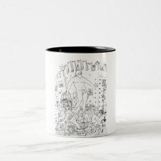Nettuno to Bologna Two-Tone Coffee Mug