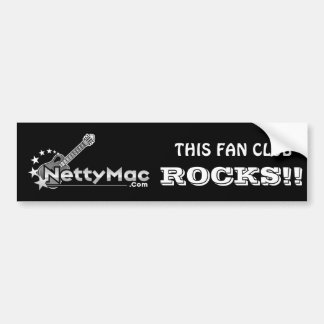 Netty Mac Bumper Sticker