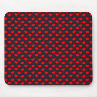 Network Lips Kisses Mouse Pad