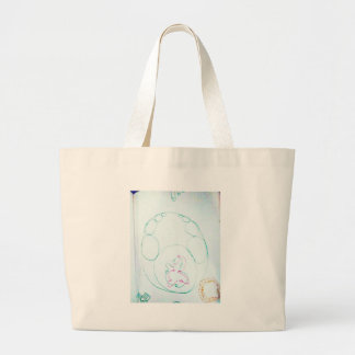 Network of a knotty Sengaku Large Tote Bag