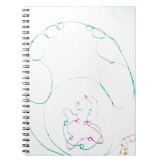 Network of a knotty Sengaku Notebooks