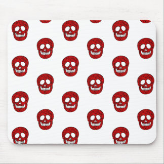 Network skulls mouse pad