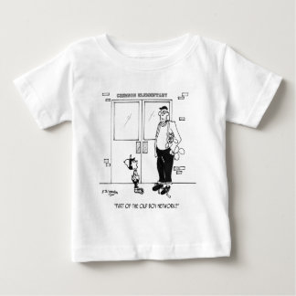 Networking Cartoon 3011 Baby T-Shirt