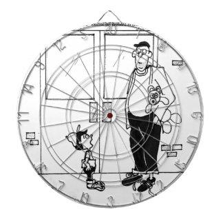 Networking Cartoon 3011 Dartboard