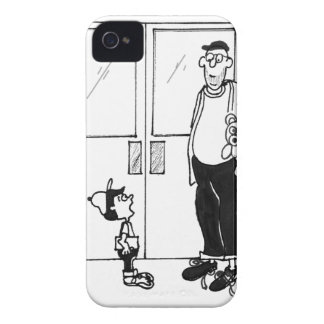 Networking Cartoon 3011 iPhone 4 Cover
