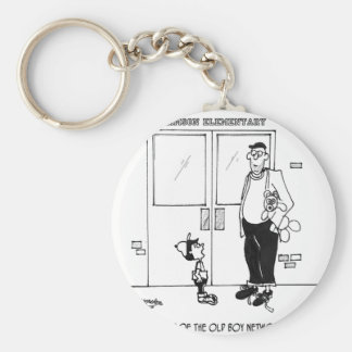 Networking Cartoon 3011 Keychain