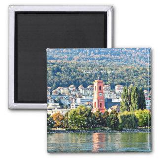 Neuchatel, Switzerland landscape Magnet