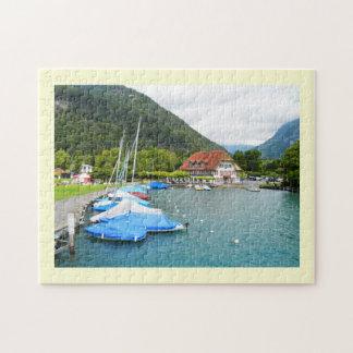Neuhaus at Lake Thun Jigsaw Puzzle