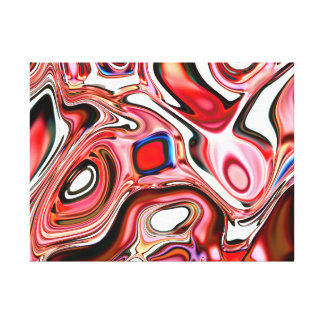 Neural Abstraction Printed on Canvas