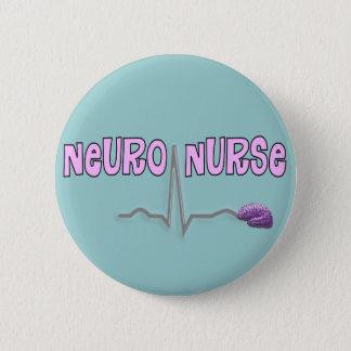 Neuro Nurse Gifts 2 Inch Round Button