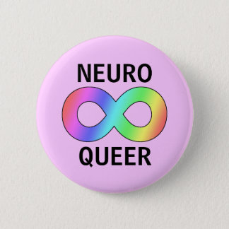 neuro queer 2 inch round button