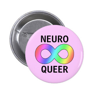 neuro queer 2 inch round button