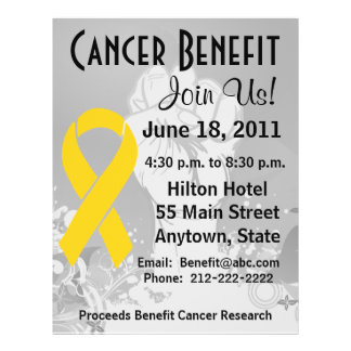 Neuroblastoma Cancer Personalized Benefit Flyer
