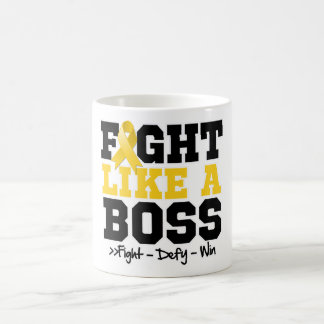 Neuroblastoma Fight Like a Boss Coffee Mug
