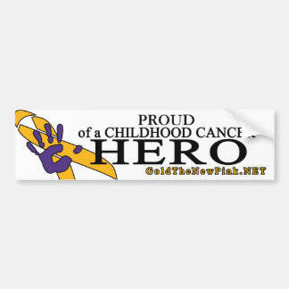 "Neuroblastoma - ""Proud"" Bumper Sticker"