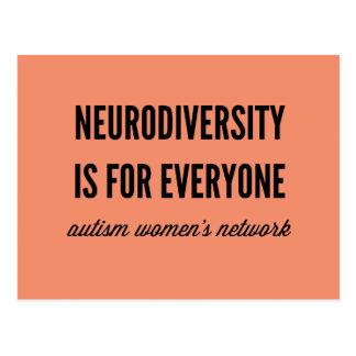 Neurodiversity is for Everyone Postcard