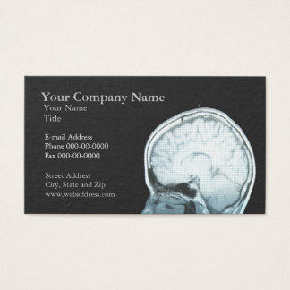 Neurologist Appointment Business Card