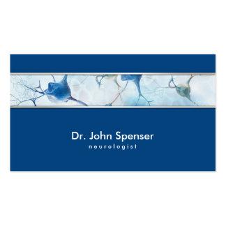 Neurologist Blue Business Card