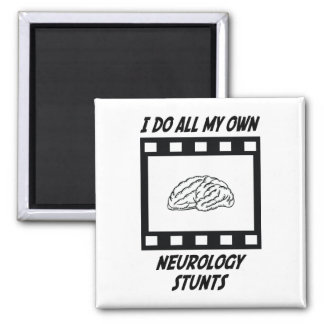 Neurology Stunts Magnet