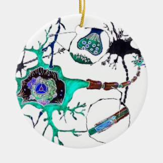 Neuron! Ceramic Ornament