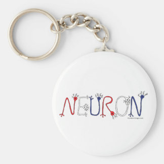 Neuron Keychain (Patriotic)