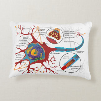 Neurons Nerve Style Accent Pillow