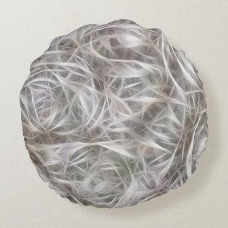 Neurons Round Pillow