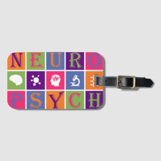Neuropsychology - Gifts for Neuropsychologists Luggage Tag