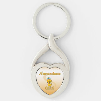 Neuroscience Chick Keychain