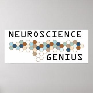 Neuroscience Genius Print