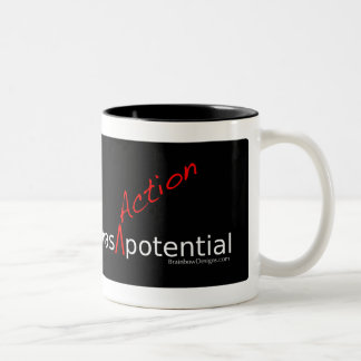 "Neuroscience Has ""Action"" Potential Mug"