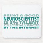 Neuroscientist 3% Talent Mouse Mats