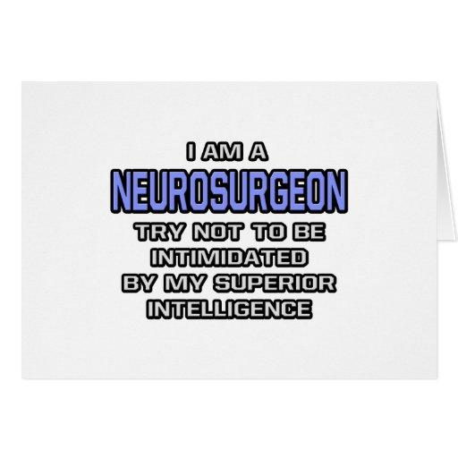 Neurosurgeon Joke ... Superior Intelligence Card