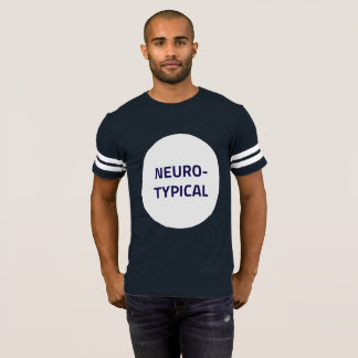 Neurotypical Football T-Shirt (Boring Version)