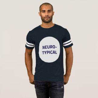 Neurotypical Football T-Shirt (Boring Version)