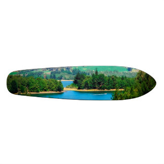 Neusa Lake and Boat, Colombia Skate Board