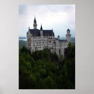 Neuschwanstein Castle 2 Poster
