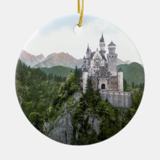 Neuschwanstein Castle 5 Ceramic Ornament