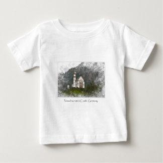 Neuschwanstein Castle Bavaria Germany Baby T-Shirt