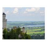 Neuschwanstein Castle, Bavaria, Germany Post Card