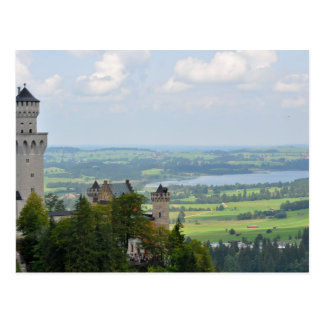 Neuschwanstein Castle, Bavaria, Germany Postcard