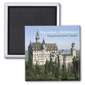 Neuschwanstein Castle Bavaria Travel Fridge Magnet