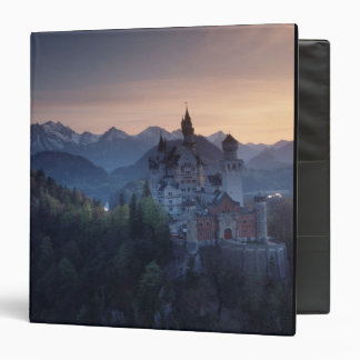Neuschwanstein Castle, built late 1800's by Vinyl Binder
